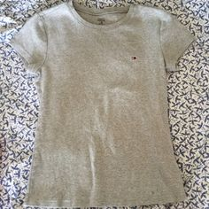 92c0a218 Tommy Hilfiger heather gray T-shirt M women's Tommy Hilfiger Tops Tees -  Short Sleeve