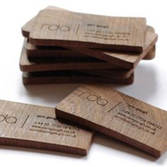 Smart and unique card design for a portland oregon architect todd cartes de visite une collection non conventionnelle wood business cardsunique reheart Gallery