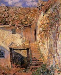 The Steps - Claude Monet