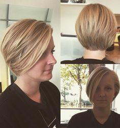 Short Stacked Bob Haircuts for Women