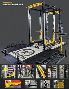 Power Rack Home Gym Package. Build Your Own Home Gym Equipment. Home and Family Home Gym Garage, Basement Gym, Dream Home Gym, At Home Gym, Attic Renovation, Attic Remodel, Home Gym Equipment, No Equipment Workout, Fitness Equipment