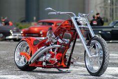 Highnecker Custombike by Thunderbike Customs Germany