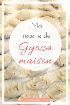 Ma recette de gyoza maison ! Homemade japanese dumplings, asian food