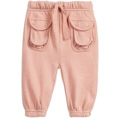 Baby Girls Pink 'Cedar' Tracksuit Trousers, Stella McCartney Kids, Girl