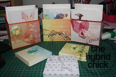 Quick and easy gift box and cards
