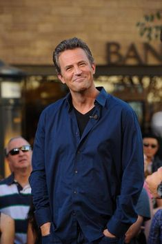 Matthew Perry-I feel so sad when I see them this old