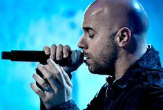 """Chris Daughtry of Daughtry performs on March 20, 2012 in support of """"Break The Spell"""" at Shea's Performing Arts Center in Buffalo, New York"""