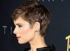 kate mara pixie - Google Search Short Pixie Haircuts, Pixie Hairstyles, Trendy Hairstyles, Hairstyles 2018, Haircut Short, Short Wavy Pixie, Short Hair Cuts For Women, Short Hairstyles For Women, Short Cuts