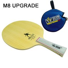 NEW SANWEI M8 JUNIOR Professional Table Tennis Blade/ ping pong blade/ table tennis bat    Send Cover Case