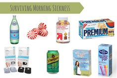 What you need to survive morning sickness