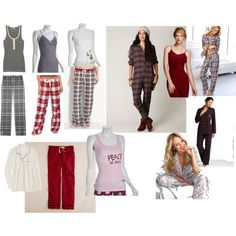 for a family or couple holiday photo shoot in bed...fun wardrobe ideas for women.
