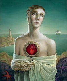 Surrealism and Visionary art: Heather Watts