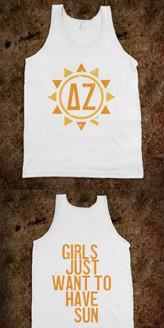 Delta Zeta Frat Tanks - Sorority Shirts. CLICK HERE to purchase :) Buy 1 or 100!
