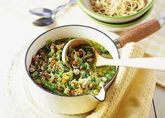 Spring chicken noodle soup image
