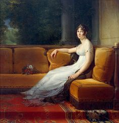 * Imperatriz Josefina * (Marie Josèphe Rose Tascher de la Pagerie). (By François Gérard)