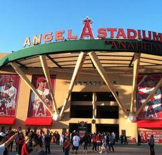 Angel Stadium of Anaheim in Anaheim, CA