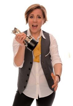 Hannah Hart. If given the chance, I'd totally go gay for her. Love me some My Drunk Kitchen. Shes just too cute!