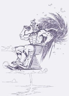 Zodac, Cosmic Enforcer. by Axel-Gimenez on DeviantArt