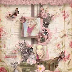 Sweet Angels by Angelique's Scraps   photo marta everest   [ link ] [ link ]   chouk free template