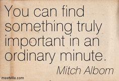 Mitch Albom Quotes When All