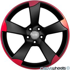 AU510 - OEM RS wheels. Might be a little too gaudy on a white car, but then again the interior is already red/black. $729 for a set of 4