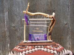 EVELYN NEZ LOOM 27X23.... Wow, the loom itself is art!