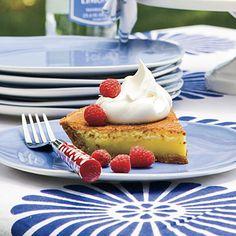 Recipe: Lemon Chess Pie   SouthernLiving.com   #4thofJuly