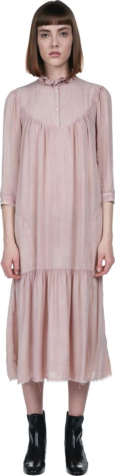 Victorian Neck Dress | Raquel Allegra | LOIT