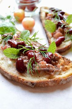 fee  kitchen: Bruschetta façon Mexicain sans pigments