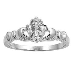 "Claddagh...Irish wedding band. Not saying I""m getting married, just saying...culturally relevant LOL"