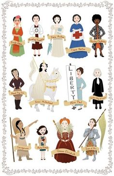 Women+In+History+Poster+2+on+www.amightygirl.com