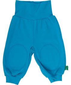 Fred's World organische katoenen turquoise baby broek. freds-world.nl.emilea.be