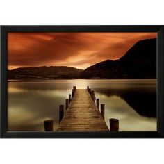 Wildon Home  'Ullswater, Glenridding, Cumbria' by Mel Allen Framed Photographic Print