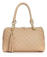 Calvin Klein Handbag, Geneva Quilted Leather Satchel