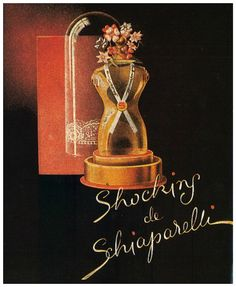 vintage perfume ads | Shocking de Schiaparelli (Vintage Perfume) | The Non-Blonde
