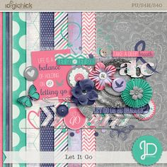 Let It Go Monday's Guest Freebies  ⊱✿-✿⊰ Join 4,000 others & follow the Free Digital Scrapbook board for daily freebies. Visit GrannyEnchanted.Com for thousands of digital scrapbook freebies. ⊱✿-✿⊰