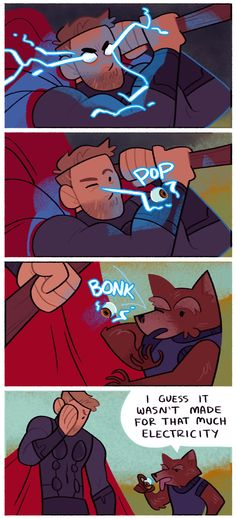 Thor and Rocket - Infinity War Funny Marvel Memes, Marvel Jokes, Dc Memes, Avengers Memes, Funny Comics, Marvel Dc Comics, Marvel Heroes, Marvel Avengers, Loki Thor