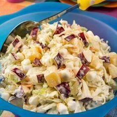 Egy finom Hawaii káposztasaláta ebédre vagy vacsorára? Hawaii káposztasaláta Receptek a Mindmegette.hu Recept gyűjteményében!
