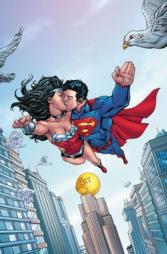 SUPERMAN/WONDER WOMAN: FUTURES END #1 ... SEPTEMBER 2014 Cover art by Tom Raney