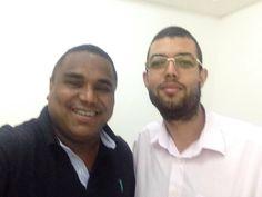 Visitando meu amigo Pastor Odirlei Franklin na IURD.