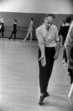 """God creates, I do not create. I assemble and I steal everywhere to do it; from what I see, from what the dancers can do, from what others do."" George Balanchine"