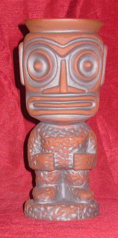 Trader Vic's Portland Second Tiki Mug Super Limited Edition, 2012. Munktiki.