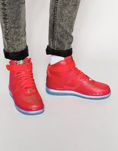 super popular 72884 4a28d Nike Air Force 1 Comfort Lux Trainers 748280-600 Air Force 1, Nike Air
