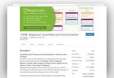 Most Popular Social Media WordPress Plugins 2020 - New Template Social Media Automation, Social Media Marketing, Most Popular Social Media, Social Media Calendar, Wordpress Plugins, Schedule, Advertising, Templates, Timeline