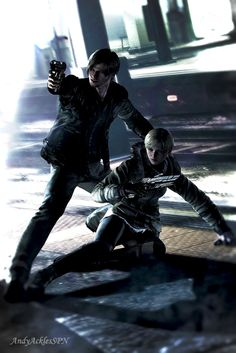 Leon s Kennedy and Sherry Birkin RE 6