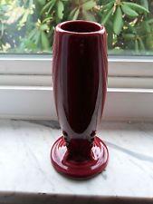 Fiestaware Cinnabar Bud Vase Fiesta