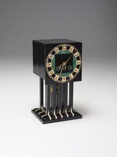 Charles Rennie Mackintosh                (Scottish                  ,                  1868                  -                  1928)            Mantle Clock1917