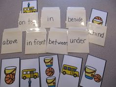 Adventures in Tutoring and Special Education: Prepositions