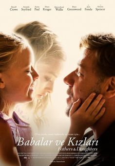 Fathers and Daughters Movie Poster : Teaser Trailer Love it! Amanda Seyfried is in it! And another good film from Russel! Sad Movies, 2015 Movies, Great Movies, Movies Showing, Movies And Tv Shows, The Daughter Movie, 3d Cinema, Film Books, Romantic Movies