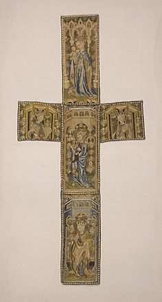 Orphrey Cross - Germany (Bohemia or Silesia) - 1410-1430